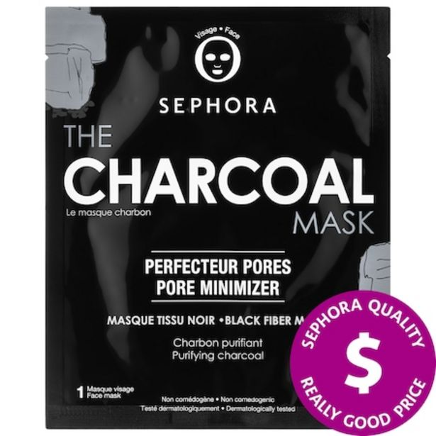 SUPERMASK - The Charcoal Mask discount at $4