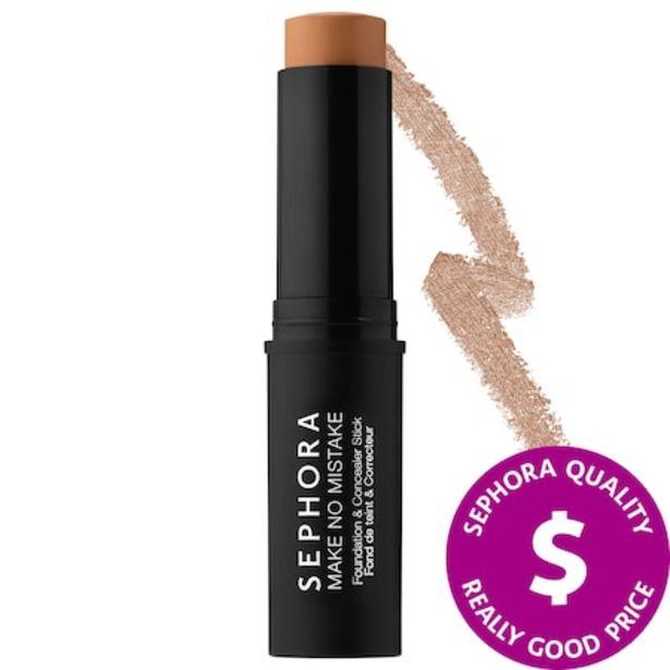 Make No Mistake Foundation & Concealer Stick discount at $8