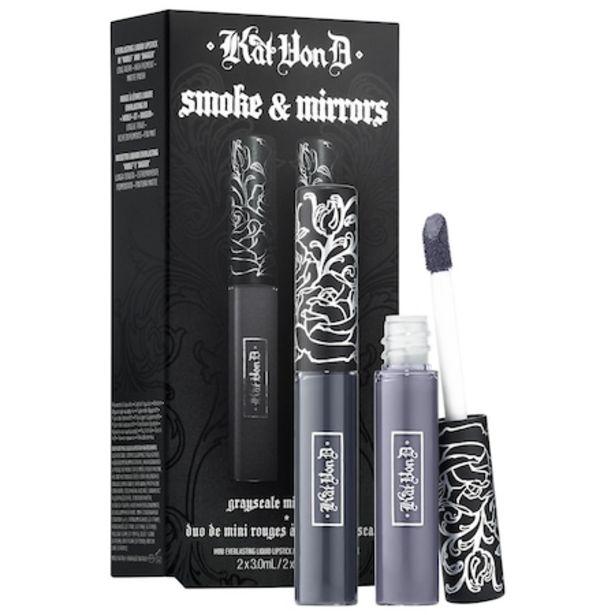 Kitten Mini Smoke & Mirrors Grayscale Mini Lip Everlasting Liquid Lip Duo discount at $5