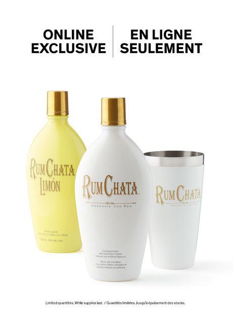 RumChata Cream & Limon + FREE recipe book & shaker discount at $61.65