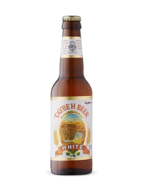 White Taybeh Beer discount at $4.1