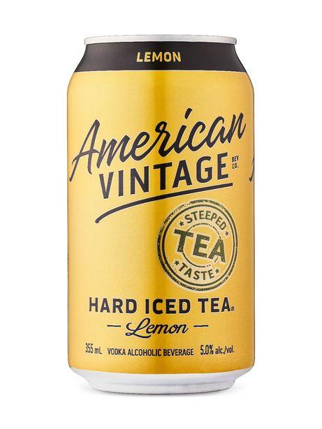 American Vintage Lemon Hard Iced Tea discount at $12.75