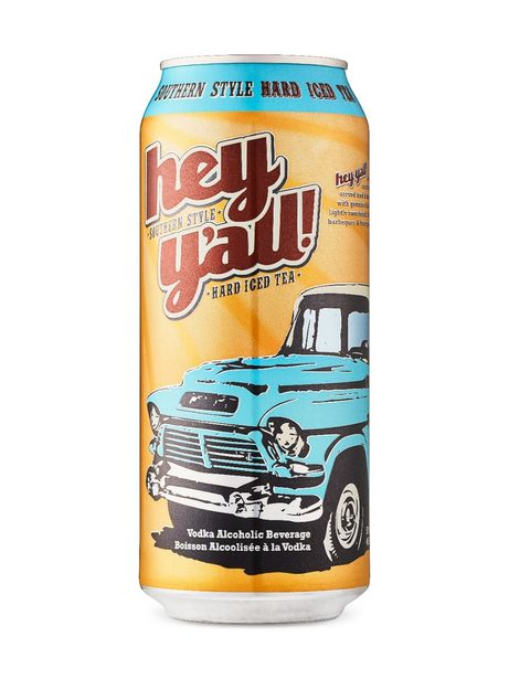 Hey Y'All Southern Style Hard Iced Tea discount at $2.7