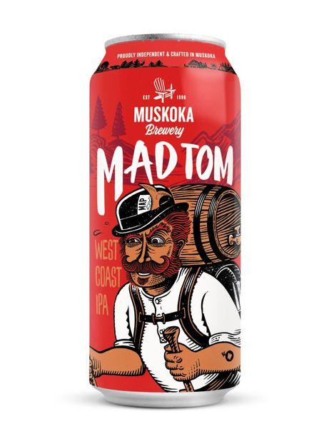 Muskoka Mad Tom IPA discount at $3.6