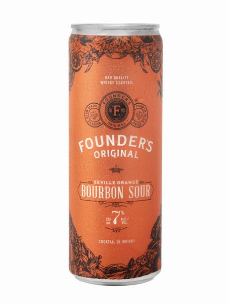 Founder's Original Bourbon Sour discount at $2.95