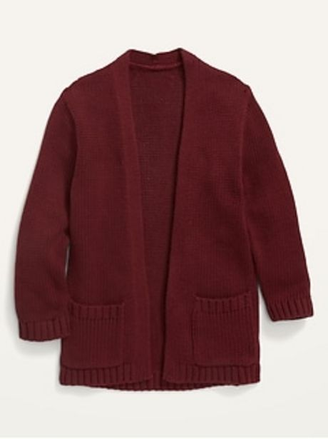 Open-Front Sweater for Toddler Girls discount at $22