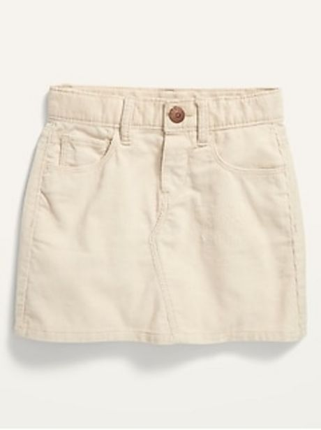 Garment-Washed Corduroy Skirt for Toddler Girls discount at $16