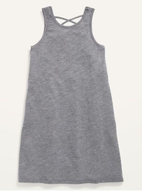 Sleeveless Lattice-Back Dress for Girls discount at $5.97