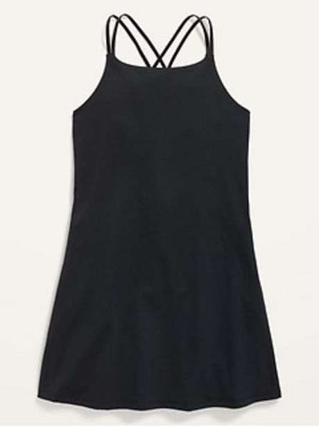 PowerSoft Strappy Dress for Girls discount at $18.97