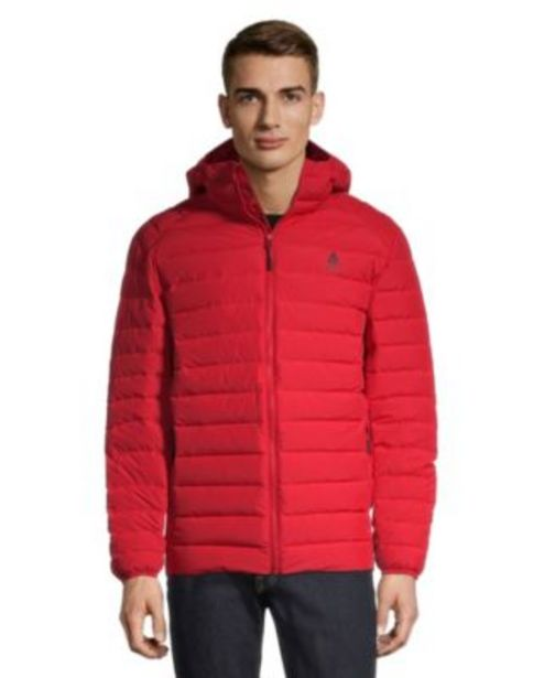 Woods Men's Bennington Down Insulator Jacket - Red discount at $79.97