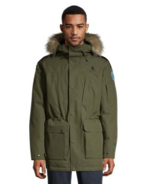 Woods Men's Avens Down Parka - Rifle Green discount at $224.97