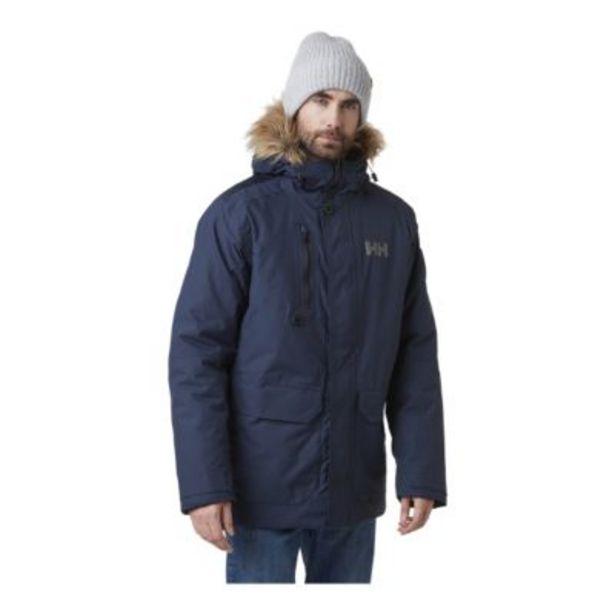 Helly Hansen Men's Svalbard Insulated Parka Jacket - Navy discount at $169.97