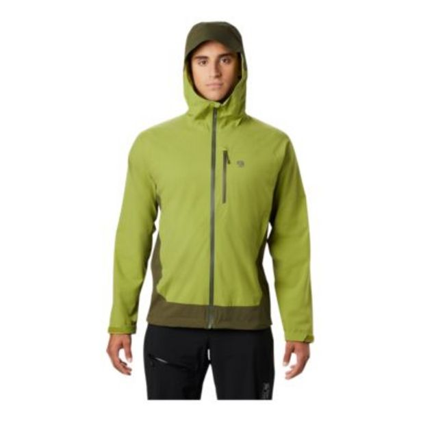 Mountain Hardwear Men's Stretch Ozonic Jacket - Just Green discount at $249.99