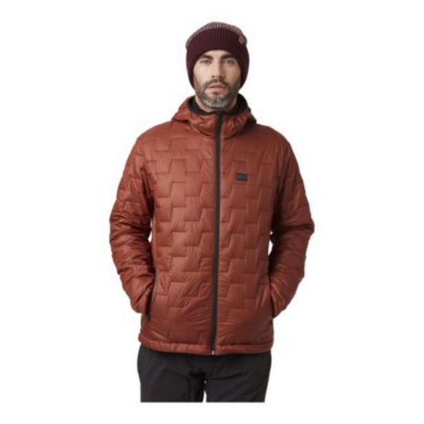 Helly Hansen Men's Lifaloft Hooded Jacket - Redwood Melange discount at $134.97
