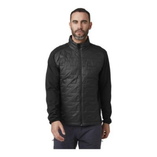 Helly Hansen Men's Lifaloft Hybrid Insulated Jacket - Matte Black discount at $99.88