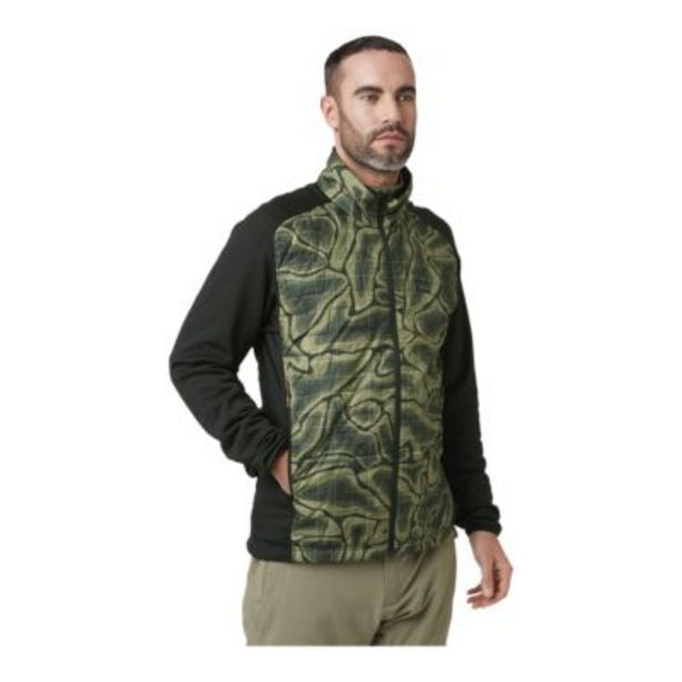 Helly Hansen Men's Lifaloft Hybrid Insulated Jacket - Beluga Nmm Print discount at $99.88