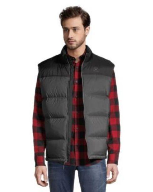 Woods Men's Warwick Puffy Vest - Asphalt discount at $119.97