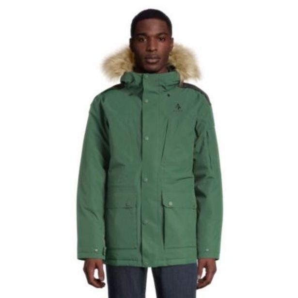Woods Men's Avens Down Parka - Dark Green discount at $450