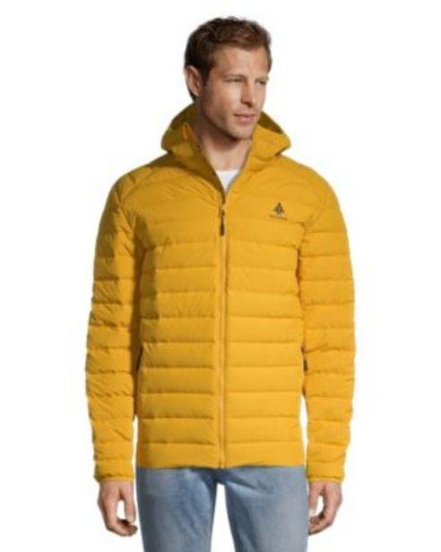 Woods Men's Bennington Down Insulator Jacket - Mineral Yellow discount at $59.88