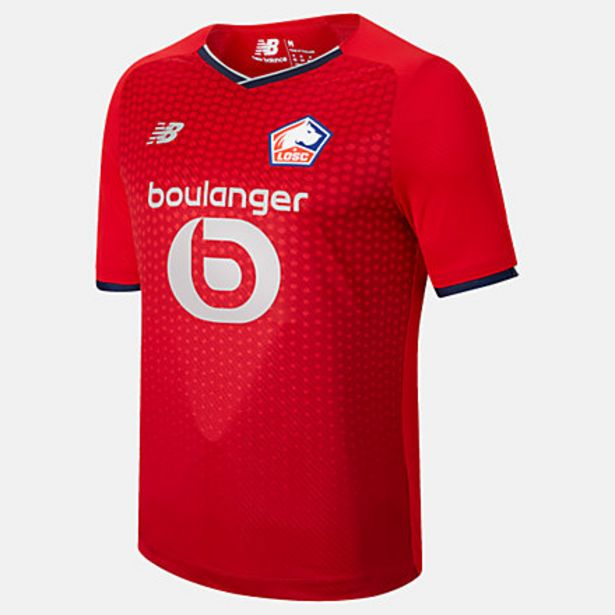 Lille LOSC Home Short Sleeve Jersey discount at $99.99