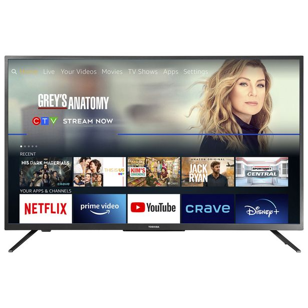 """Toshiba 43"""" 4K UHD HDR LED Smart TV (43LF621C21) - Fire TV Edition - Only at Best Buy discount at $399.97"""