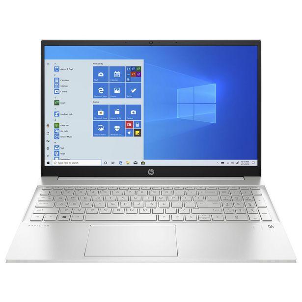 "HP 15.6"" Touchscreen Laptop - Natural Silver (AMD Ryzen 5 5500U/512GB SSD/12GB RAM/Windows 10) discount at $859.99"