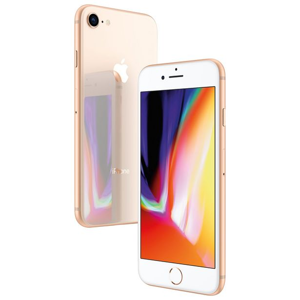 Apple iPhone 8 64GB Smartphone - Gold - Unlocked - Certified Refurbished discount at $266.97