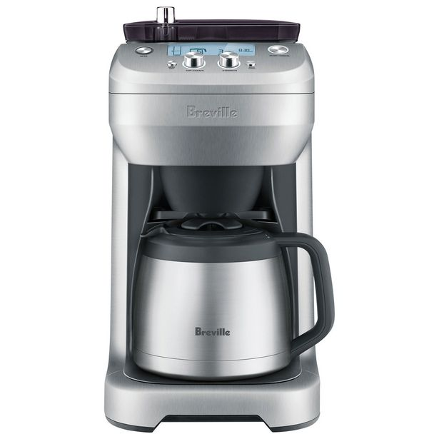 Breville Grind Control 12-Cup Coffee Maker (BDC650BSS) discount at $319.99