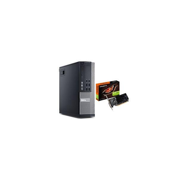 Gaming PC - Dell 9020 SFF Desktop Intel Core i7 @ 3.4GHz, 16GB RAM, 256GB SSD, NEW NVIDIA GT1030, Win 10 Pro *Refurbished* discount at $574.16