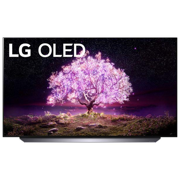 "LG 55"" 4K UHD HDR OLED webOS Smart TV (OLED55C1AUB) - 2021 discount at $1899.99"