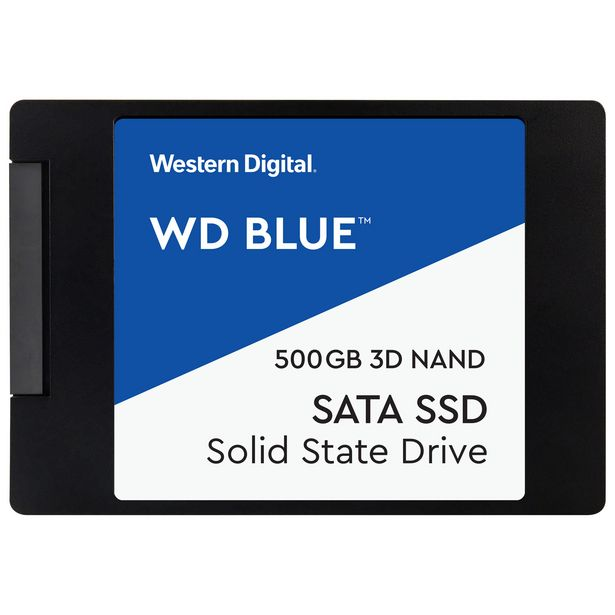 WD Blue 500GB 3D NAND SATA III Internal Solid State Drive discount at $69.99
