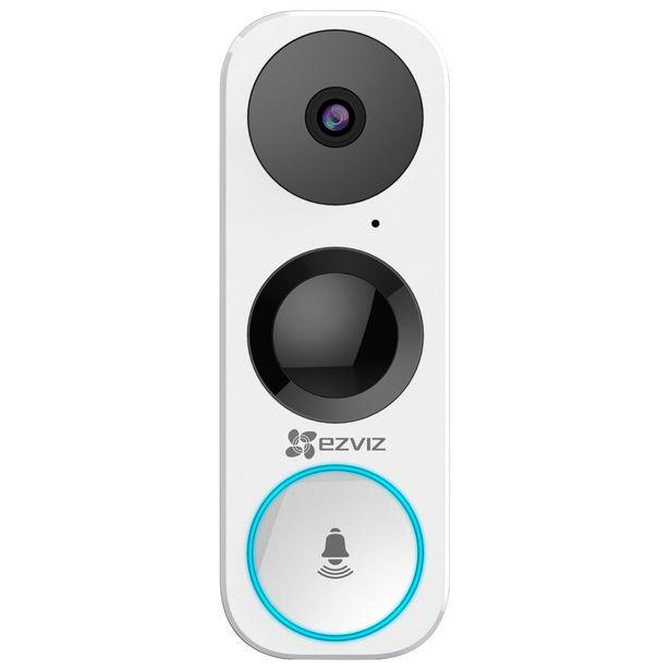 EZVIZ DB1 Wi-Fi Video Doorbell - White discount at $99.97