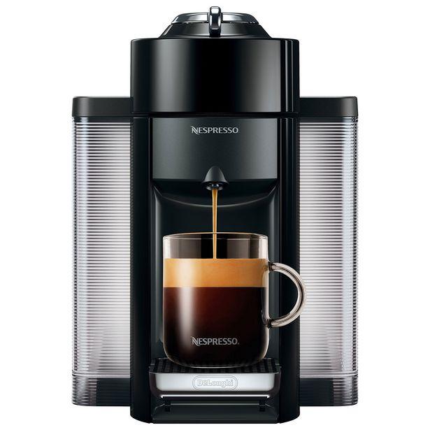 Nespresso Vertuo Coffee & Espresso Machine by De'Longhi - Black discount at $202.98
