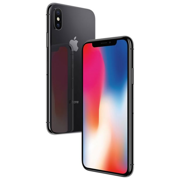 Apple iPhone X 64GB Smartphone - Space Gray - Unlocked - Certified Refurbished discount at $467.37