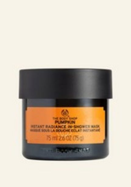 Pumpkin Instant Radiance In-Shower Mask  discount at $28