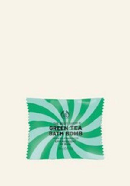 Green Tea Bath Bomb discount at $3