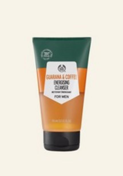Guarana & Coffee Energising Cleanser for Men discount at $18