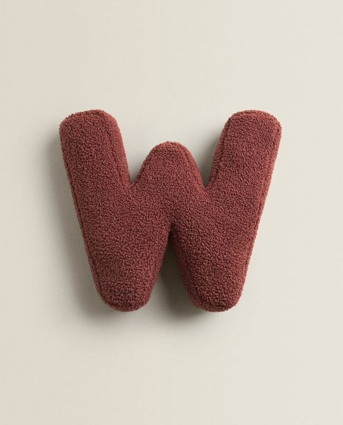 Letter W Cushion discount at $29.9