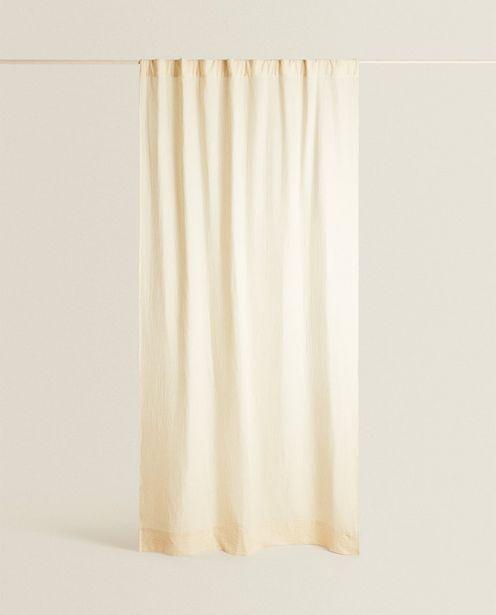 Striped Muslin Curtain discount at $99.9