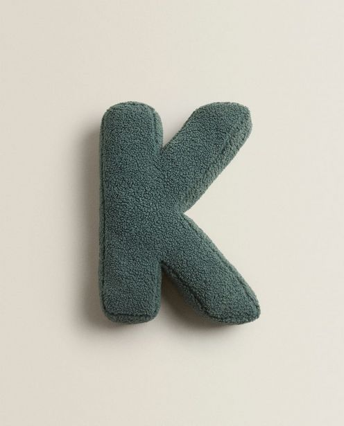 Letter K Cushion discount at $29.9