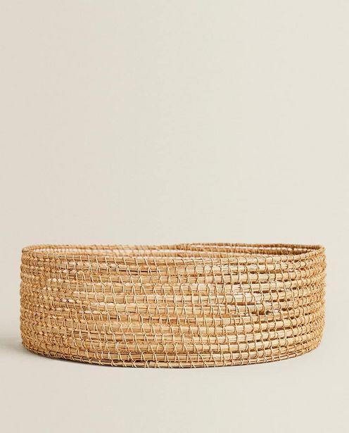 Round Palm Leaf Basket discount at $49.9