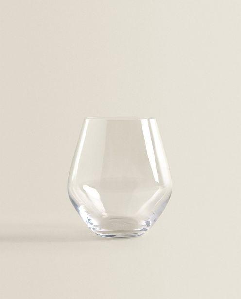 Bohemia Crystal Water Tumbler discount at $7.9