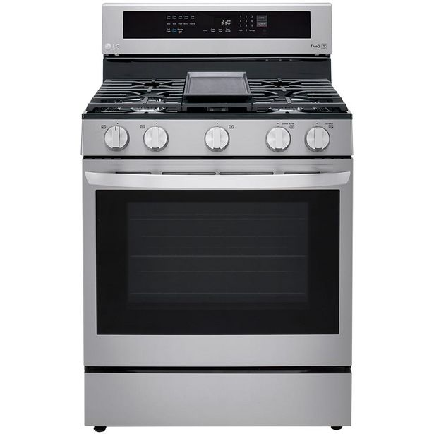 LG 30 inch Single Oven Gas Range discount at $1299.98