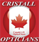 Info and opening hours of Cristall Opticians store on 1168A Bay Street